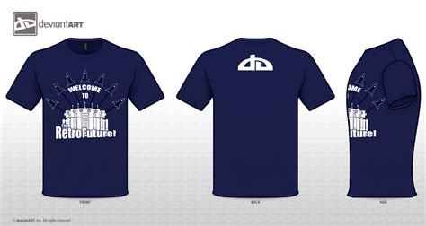 welcome t shirt design blue by xzal on deviantart
