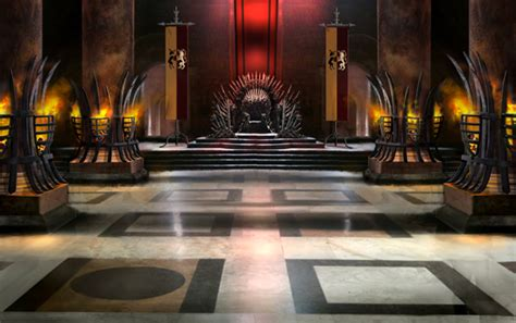 of thrones throne room set designing sets for of thrones creative review