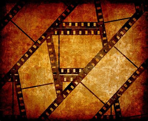 aged wallpaper with film strip border stock illustration old film strip with some spots stock photo colourbox