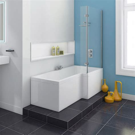 square shower baths 1700mm square shower bath with hinged screen at