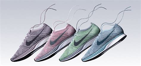 Sepatu Nike Flyknit Racer Macaroon Pack Blueberry Legion Blue nike flyknit racer macaroon pack release details