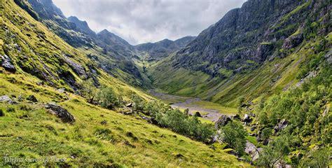 glencoe hidden valley scotland lost valley coire