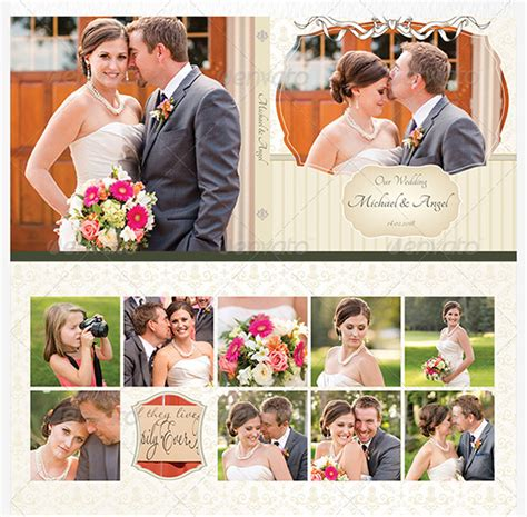 How To Make Wedding Album Layout by Wedding Album Design Template 57 Free Psd Indesign