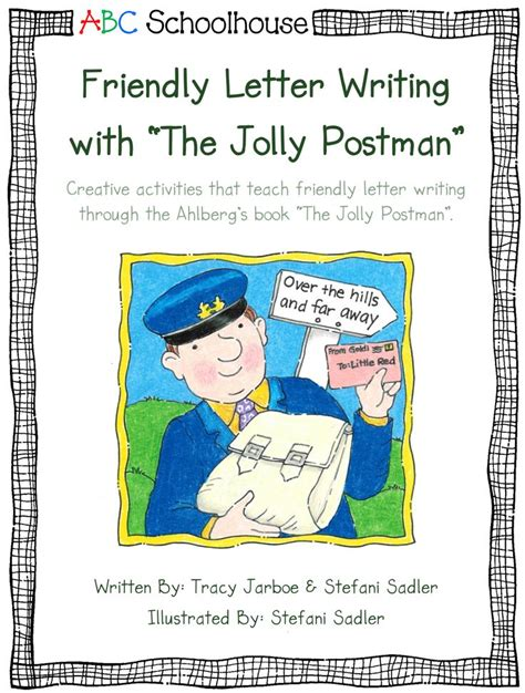 Business Letter Classroom Activities 24 best friendly letter writing with the jolly postman