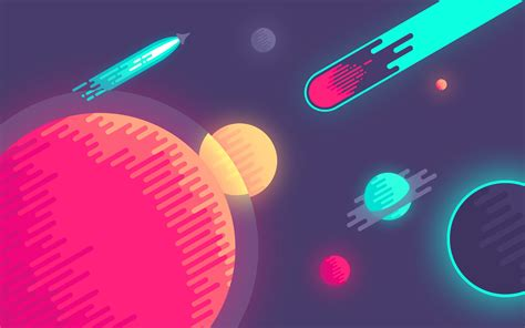 minimalist space about that space illustration you keep seeing around