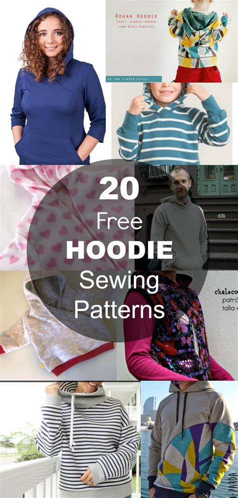 free sewing patterns and tutorials on the cutting floor 20 hoodie free printable sewing patterns on the cutting