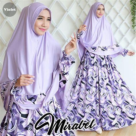 Baju Gamis Syar I Cantik baju gamis cantik murah mirabel syar i
