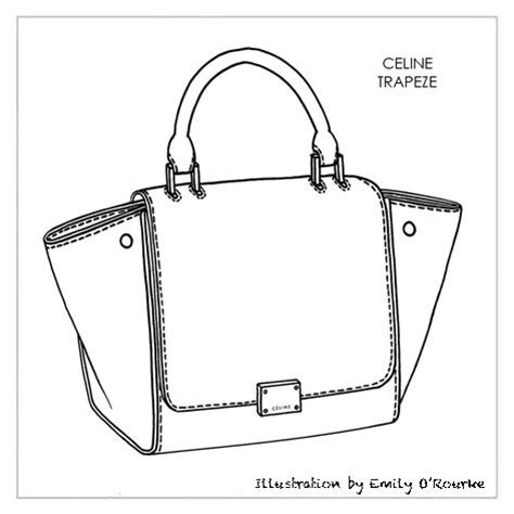 Sketches Bags by Trapeze Bag Designer Handbag Illustration