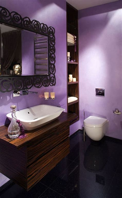 25 best ideas about purple bathrooms on pinterest