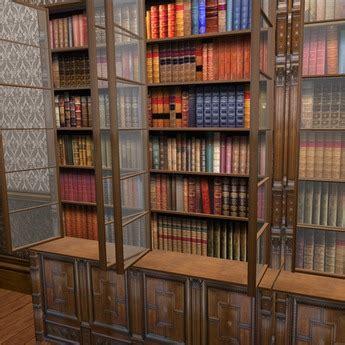 bookshelf with glass doors goenoeng
