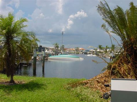 hurricane boats orlando florida memory view looking toward boats damaged by