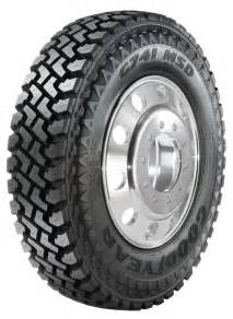 Used Semi Truck Tires And Rims Goodyear Commercial Tire Systems G741 Msd Truck Tire In