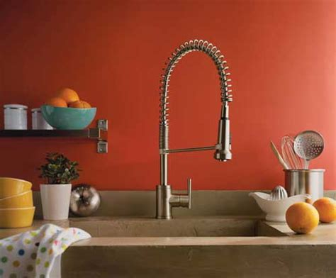 Touchless Kitchen Faucets Danze Parma Pre Rinse Faucet Enhances The Look Of The