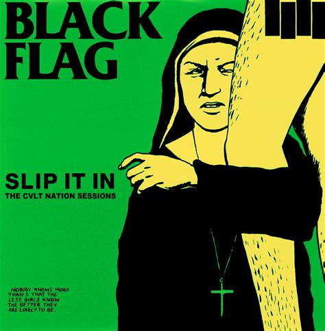 Flag Black black flag slip it in the cvlt nation sessions