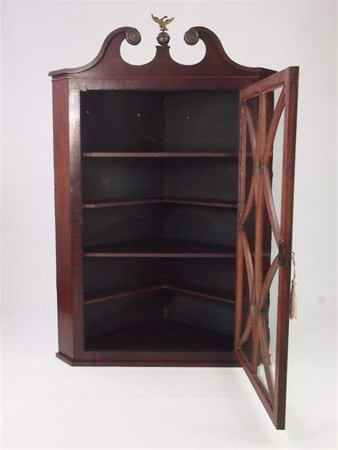 antique corner cabinet for sale antique georgian mahogany corner cupboard for sale