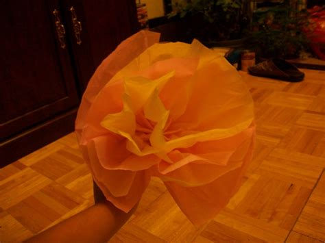 How To Make A Flower Out Of Tissue Paper - how to make a flower out of tissue paper