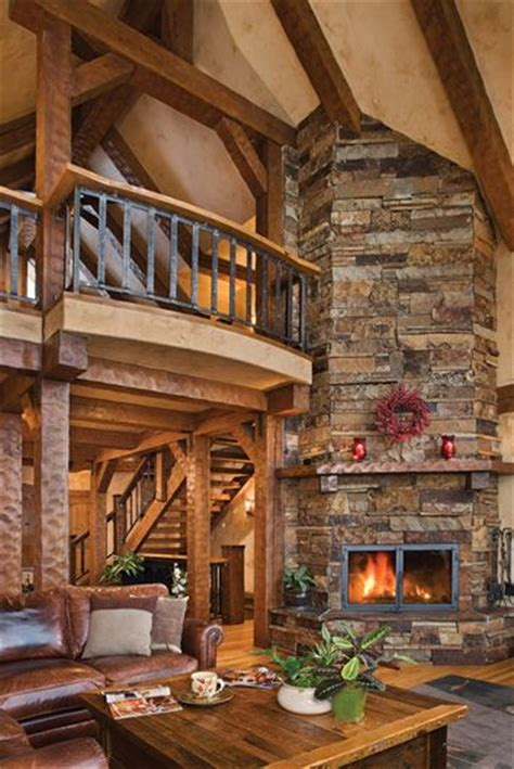 home design story rustic stove sandpoint great room fireplace a place to call home