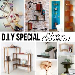 diy home clever corner diy solutions