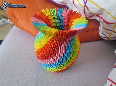 origami florero origami florero