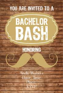 bachelor invitations theruntime