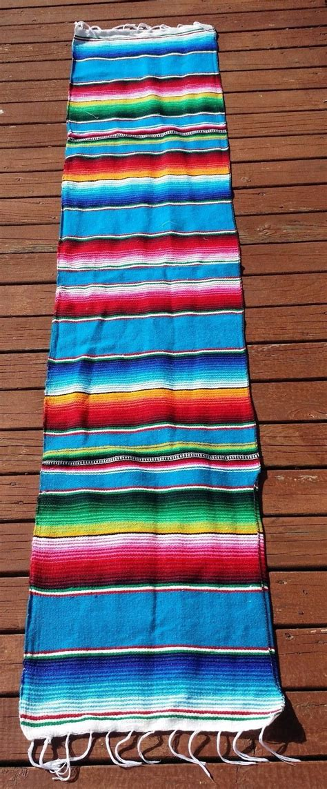 mexican serape table runner decorative table decoration