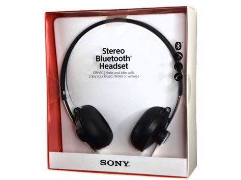 Sony Stereo Bluetooth Headset Sbh60 綷 綷 sony stereo bluetooth headset sbh60