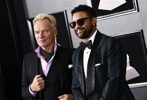 Sting and Shaggy   2018 Grammys Red Carpet: Best Photos of