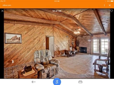 diagonal knotty pine walls