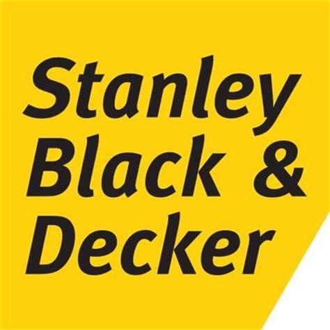 stanley and decker stanleyblack decker stanleyblkdeckr