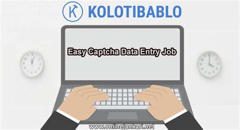 Online Make Money With Data Entry - make money with captcha data entry job from home online jankari