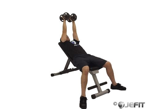 incline bench dumbbell fly dumbbell incline fly exercise database jefit best