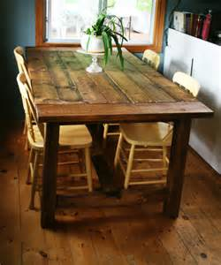 Antique Farmhouse Table And Chairs » Home Design