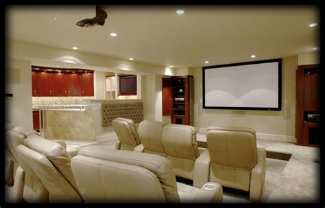 dec  porter imagination  home peek  boo home theater design