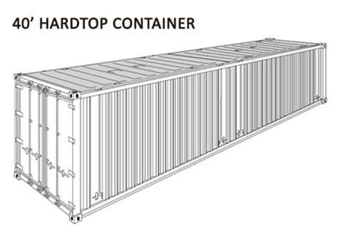 container misure interne container