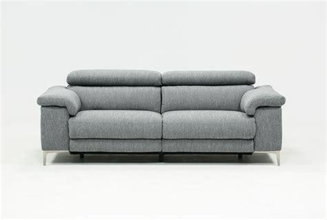 living spaces recliner sofa talin power reclining sofa w usb living spaces