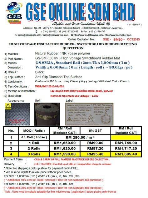 high voltage company in malaysia high voltage insulation rubber mat malaysia