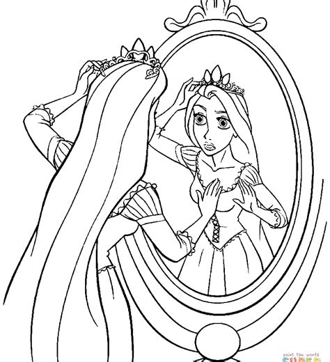 coloring page rapunzel tower 7 best images of free printable coloring pages rapunzel