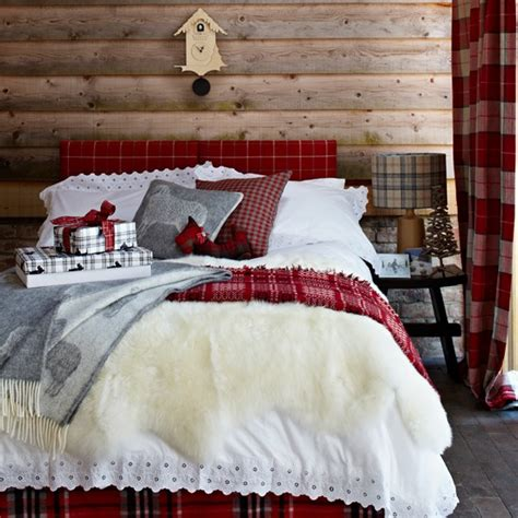 plaid bedroom ideas red tartan bedroom housetohome co uk