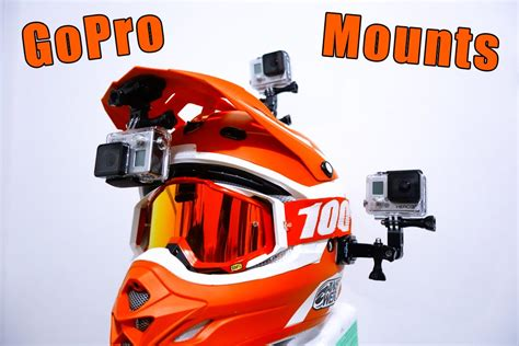 gopro motocross helmet mount gopro motocross mounts youtube