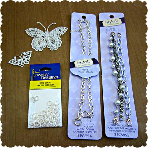 supplies needed to make jewelry make your own lace butterfly jewelry morena s corner
