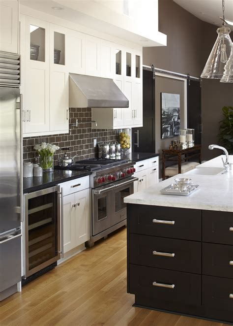 painting kitchen cabinets black painting kitchen cabinets black transitional with glass