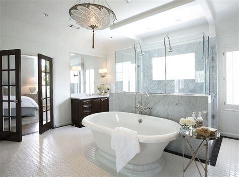 bathtub in french bathroom french doors design ideas