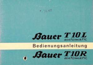 Bauer Bauer T10l T10r Automatic Lindemanns Buchhandlung