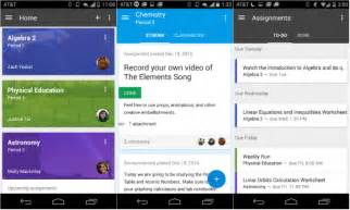 Google classroom makes its way to the play store