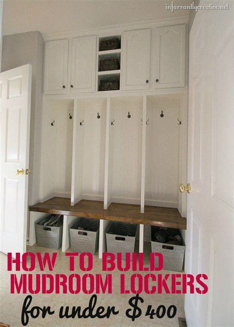 mudroom locker plans diy 340 best garage mudroom ideas images on pinterest