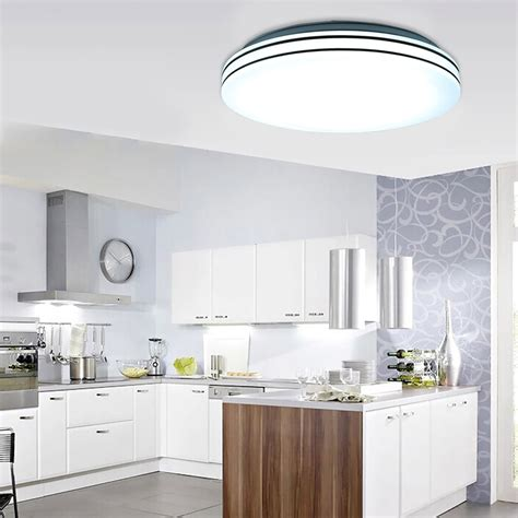 Recessed Led Lights For Kitchen 24w Recessed Led Ceiling Light L Flush Mounted Bathroom Fitting Kitchen Ebay