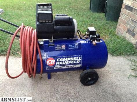 armslist for sale cbell hausfeld air compressor