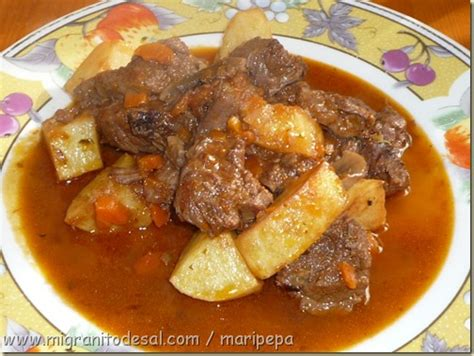 cocinar carrillada de ternera version original goulash h 250 ngaro vs guiso de cerdo o
