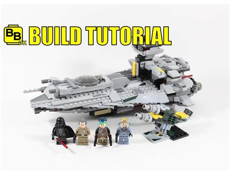 lego war tutorial lego star wars 75150 alternative build vader s light star