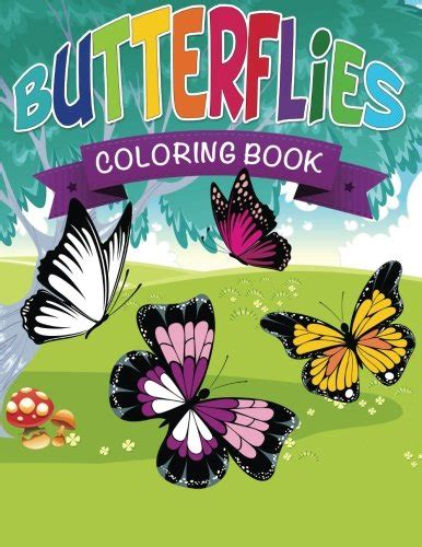 butterfly colors books butterflies coloring book children books us